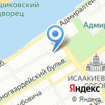 DeLuxe на карте Санкт-Петербурга