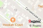 Схема проезда до компании Миланио в Санкт-Петербурге