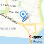 Учебно-производственный комбинат на карте Санкт-Петербурга
