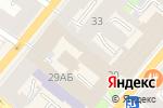 Схема проезда до компании ТканьБерри в Санкт-Петербурге