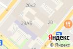 Схема проезда до компании Тантал в Санкт-Петербурге