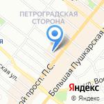Tweed & Eat на карте Санкт-Петербурга