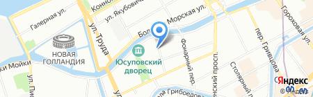 Polarant на карте Санкт-Петербурга