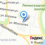 Вакансия на карте Санкт-Петербурга