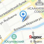 Основа на карте Санкт-Петербурга