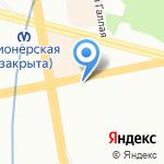 Храм Святой мученицы Татианы на карте Санкт-Петербурга