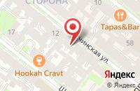 Схема проезда до компании Литон в Санкт-Петербурге
