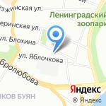 Анталгический Центр на карте Санкт-Петербурга