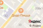 Схема проезда до компании Be Trandy в Санкт-Петербурге