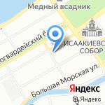 Нотариус Качкина И.А. на карте Санкт-Петербурга