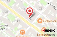 Схема проезда до компании Деньги в долг в Череповце