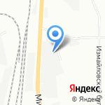 Центр Автомобильных Перевозок на карте Санкт-Петербурга