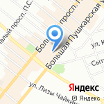 Эмма Брюллер на карте Санкт-Петербурга