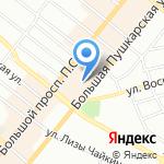 Тантал на карте Санкт-Петербурга