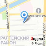 Приют Весны на карте Санкт-Петербурга
