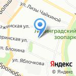 Студия фотографа Натальи Серебряковой на карте Санкт-Петербурга
