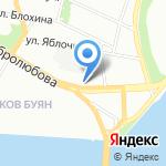 Морской Петербург на карте Санкт-Петербурга