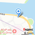Литературный музей Пушкинского Дома на карте Санкт-Петербурга