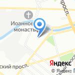 Удачная охота на карте Санкт-Петербурга
