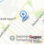 LUX-DECOR на карте Санкт-Петербурга
