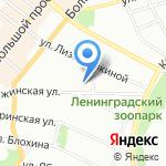 Центр для детей сирот и детей на карте Санкт-Петербурга