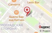 Схема проезда до компании Рестон в Санкт-Петербурге