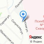 Дом-интернат для престарелых и инвалидов №1 на карте Санкт-Петербурга