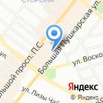 Технолюкс на карте Санкт-Петербурга