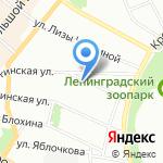 Психоневрологический диспансер №3 на карте Санкт-Петербурга