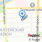 Колмарк на карте Санкт-Петербурга