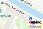 Схема проезда до компании Библиотека им. Б.А. Лавренёва в Санкт-Петербурге