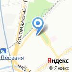 СТС на карте Санкт-Петербурга