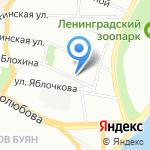 Бригадир на карте Санкт-Петербурга