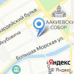 Восток на карте Санкт-Петербурга