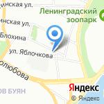 Ленинградский областной комитет по управлению государственным имуществом на карте Санкт-Петербурга