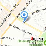 ЭКСПЕРТ КУРСЫ на карте Санкт-Петербурга
