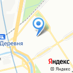 Гимназия №116 на карте Санкт-Петербурга