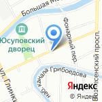 ЮЛА на карте Санкт-Петербурга