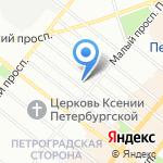 Дом+ на карте Санкт-Петербурга