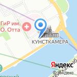 Стоматологическая поликлиника на карте Санкт-Петербурга