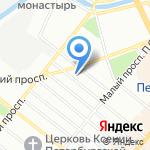 Энергоприбор на карте Санкт-Петербурга