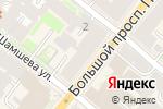 Схема проезда до компании Subway в Санкт-Петербурге