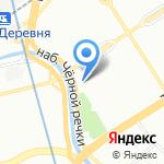 Питер Бейкер на карте Санкт-Петербурга