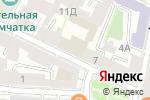 Схема проезда до компании ЭДХОК в Санкт-Петербурге