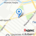 ИсПоЛин на карте Санкт-Петербурга
