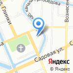 Кладенец на карте Санкт-Петербурга