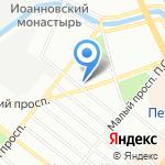 Голливуд смайл на карте Санкт-Петербурга