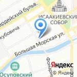 Санкт-Петербургский фонд поддержки и развития искусства и образования на карте Санкт-Петербурга