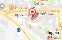 Схема проезда до компании Фосагро Аг в Санкт-Петербурге