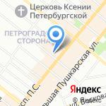 Авторское ателье Натальи Денисовой на карте Санкт-Петербурга